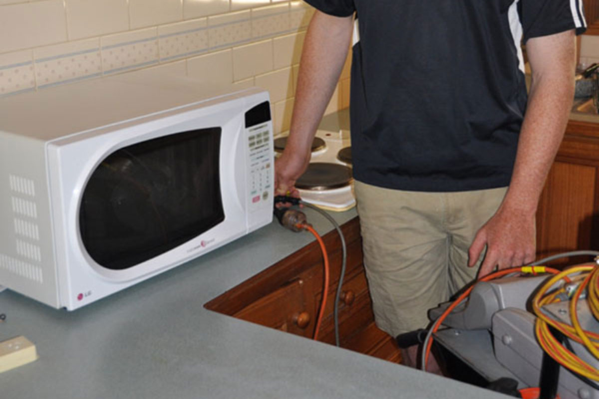 Microwave Leakage Geelong Test And Tag Electrical